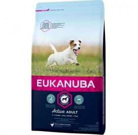 Eukanuba Active Adult Small Breed /храна за израснали кучета от дребни породи/-1кг