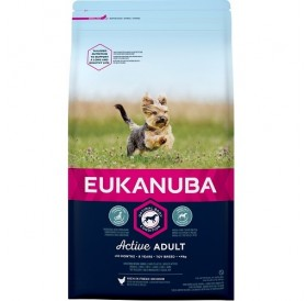 Eukanuba Active Adult Toy Breed /храна за израснали кучета от миниатюрни породи/-2кг