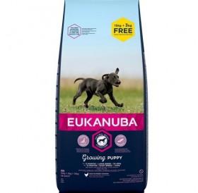 Eukanuba Growing Puppy Large Breed Maintenance /храна за подрастващи кученца от големи и гигантски породи/-15+3кг ПОДАРЪК