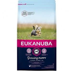 Eukanuba Growing Puppy Toy Breed /храна за подрастващи кученца от миниатюрни породи/-2кг