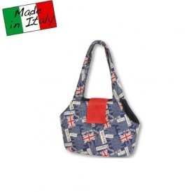 Fabotex Pet Bag British Blue /мека транспортна чанта/-42х22х28см