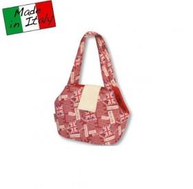 Fabotex Pet Bag British Red /мека транспортна чанта/-42х22х28см