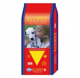 Ecopet Junior Large Breed 27/14 /храна за подрастващи кученца от едрите породи както за бременни и кърмещи/-18кг