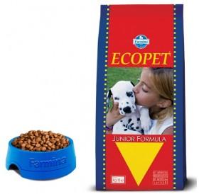Ecopet Junior 27/14 /храна за подрастващи кученца както бременни и кърмещи/-15кг