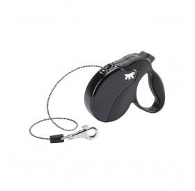 Ferplast Amigo Cord Mini Black /автоматичен повод за кучета до 12кг. въже/-3м