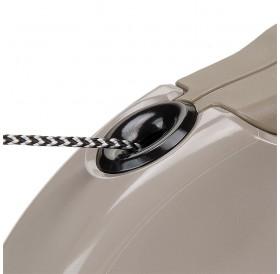 Ferplast Amigo Cord Mini Brown /автоматичен повод за кучета до 12кг. въже/-3м