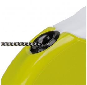 Ferplast Amigo Cord Mini Green/White /автоматичен повод за кучета до 12кг. въже/-3м