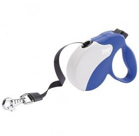 Ferplast Amigo Tape Mini Blue/White /автоматичен повод за кучета до 12кг. лента/-3м