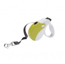 Ferplast Amigo Tape Mini Green/White /автоматичен повод за кучета до 12кг. лента/-3м