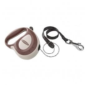 Ferplast Flippy Controller Cord M Brown /автоматичен повод за кучета до 50кг. въже/-5м