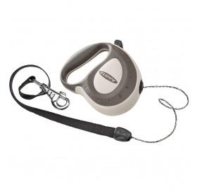 Ferplast Flippy Controller Cord M Grey /автоматичен повод за кучета до 50кг. въже/-5м