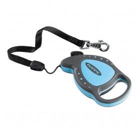 Ferplast Flippy Delluxe Mini Blue /автоматичен повод за кучета/котки до 8кг. въже/-3м
