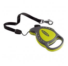 Ferplast Flippy Delluxe Mini Green /автоматичен повод за кучета/котки до 8кг. въже/-3м