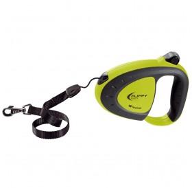 Ferplast Flippy Tech Cord S Green /автоматичен повод за кучета до 12кг. въже/-3м