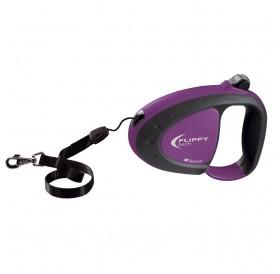 Ferplast Flippy Tech Cord S Purple /автоматичен повод за кучета до 12кг. въже/-3м