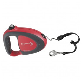 Ferplast Flippy Tech Cord S Red /автоматичен повод за кучета до 12кг. въже/-3м