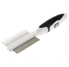 Ferplast GRO 5755 Premium Dog&Cat Comb with Chrome Teeth /двустранен метален гребен/