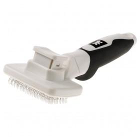 Ferplast GRO 5767 Premium Slicker Brush /четка за фино разресване със система за почистване/