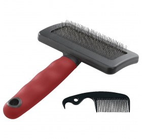 Ferplast GRO 5946 Dog&Cat Slicker Brush Large /четка за фино разресване/