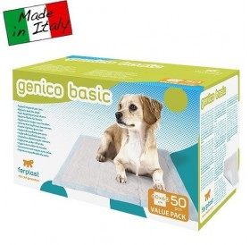 Ferplast Genico Basic Hygienic Dog Pads /абсорбиращи подложки 60x60см/-50бр