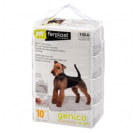 Ferplast Genico Hygienic Dog Pads Large /абсорбиращи подложки 60x90см/-10бр