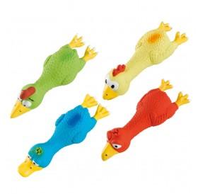 Ferplast PA 5547 LATEX BIRDS /гумена играчка птица 18х6х4 см/-1бр