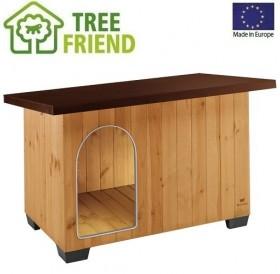 Ferplast Baita 120 /дървена къща за куче/-141x86,5x87см