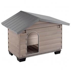 Ferplast Canada 2 /дървена къща за куче/-78x57x65см