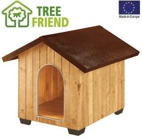 Ferplast Domus Extra Large /дървена къща за куче/-93,5x113,5x90,5см