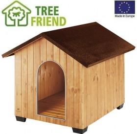 Ferplast Domus Maxi /дървена къща за куче/-111,5x132x103,5см