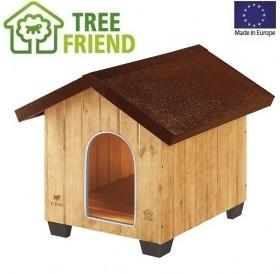 Ferplast Domus Medium /дървена къща за куче/-73x85x67,5см