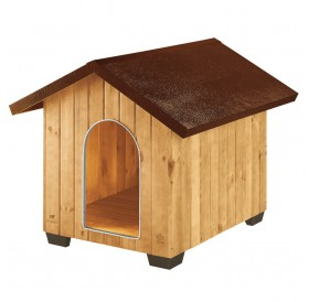 Ferplast Domus Mini /дървена къща за куче/-50x65x47,5см