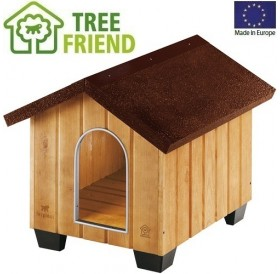 Ferplast Domus Small /дървена къща за куче/-61x74,5x55см
