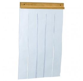 Ferplast Kennel Doors Mini /врата тип завеса за дървени къщи модел Domus и Baita/-20,5x28,5см