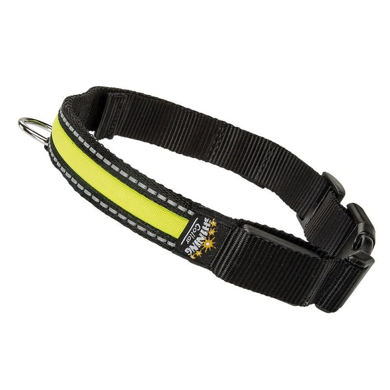 Ferplast Night Collar Large /светещ нашийник за куче/-2,5x45-63см