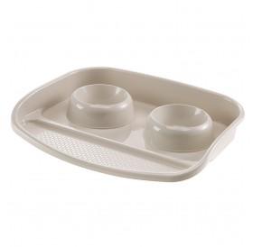Ferplast Lindo EL. /комплект купи за хранене с поставка 2x0,3л/-44,5x34x7см