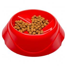 Ferplast Magnus Slow Small /пластмасова купа лакомо куче/коте 0,5л/-Ø21x10см