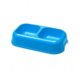 Ferplast Party 16 /двойна пластмасова купичка с противоплъзгаща основа 2х0,35л/-26,5x15x5,6см
