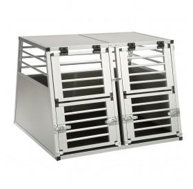 Ferplast Atlas Car Aluminium L /алуминиева транспортна клетка за комби или джип/-92x81x66см