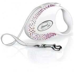 Flexi® Glam Composition Tape S /автоматичен повод за куче/-3м