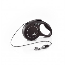 Flexi NEW Classic XSmall Cord /автоматичен повод за кучета и котки до 8кг въже/-3м