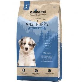 Chicopee Classic Nature Line Maxi Puppy Poultry&Millet /храна за подрастващи кученца големи породи/-2кг