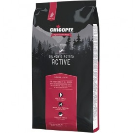 Chicopee Holistic Nature Line Active Salmon&Potato /храна за израснали активни кучета със сьомга и картофи/-2кг