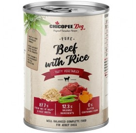 Chicopee Dog Adult Beef with Rice /храна за израснали кучета с говеждо месо и ориз/-400гр
