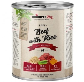 Chicopee Dog Adult Beef with Rice /храна за израснали кучета с говеждо месо и ориз/-800гр