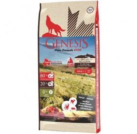 Genesis Pure Canada Broad Meadow /полувлажна храна за израснали кучета/-907гр