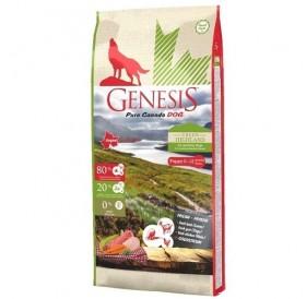 Genesis Pure Canada Green Highland /храна за подрастващи кученца/-907гр
