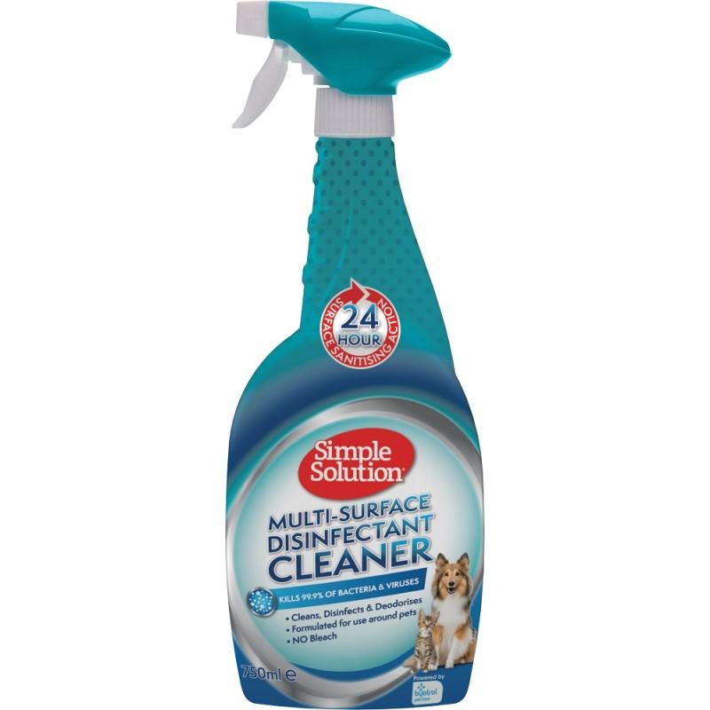 Simple Solution Multi-Surface Disinfectant Cleaner /спрей дезинфектант/-750мл