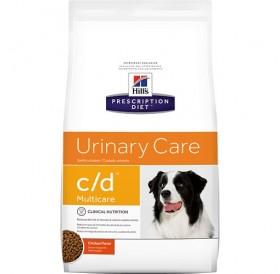 Hill's Prescription Diet™ c/d™ Multicare Canine /диета за разтваряне струвитни уролити и профилактика на оксалатни уролити при кучета/-2кг