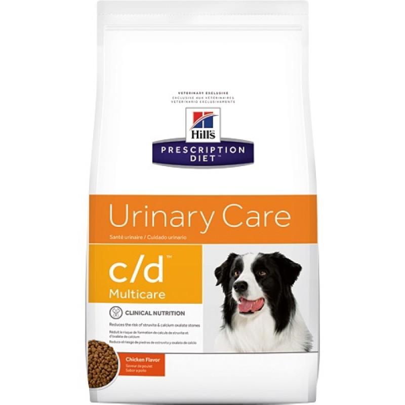 Hill's Prescription Diet™ c/d™ Multicare Canine /диета за разтваряне струвитни уролити и профилактика на оксалатни уролити при кучета/-12кг
